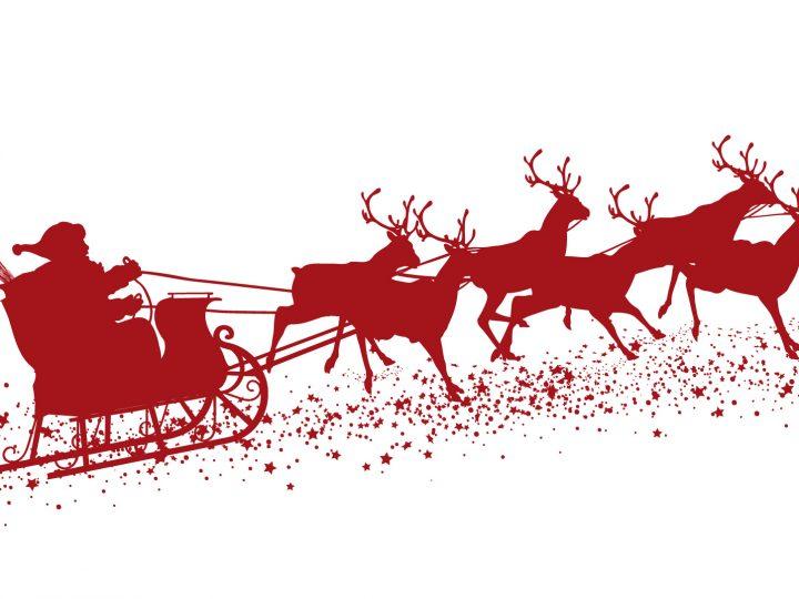 Rudolph y el Trineo de Navidad